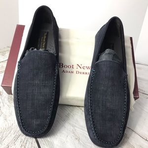 NEW To Boot New York Lewis Blue Driving Shoe Sz 11